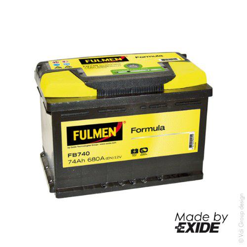 40% crédités sur la carte fidélité + Remise de 10€ supplémentaire si vous apportez votre ancienne batterie - Ex : Fulmen FP4