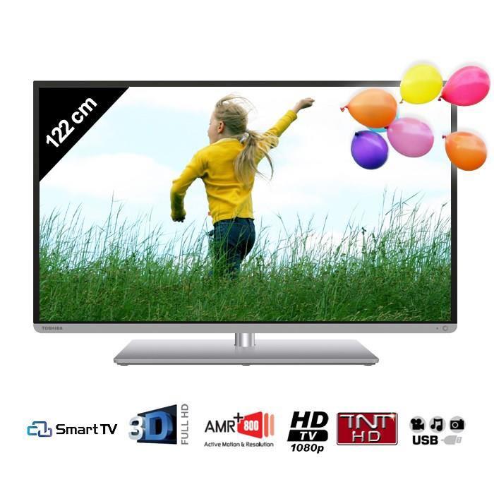 """TV 48"""" Toshiba 48L5445DG Smart TV 3D (Avec ODR de 100€)"""