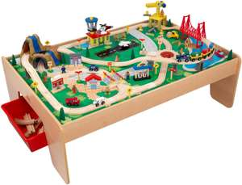 Ensemble Table et Circuit de Train Waterfall Mountain KidKraft 17850