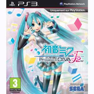 Hatsune Miku Project DIVA F 2nd sur PS3