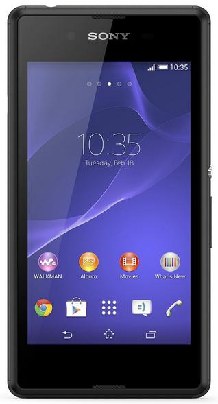 Smartphone Sony xperia E3 - 4G