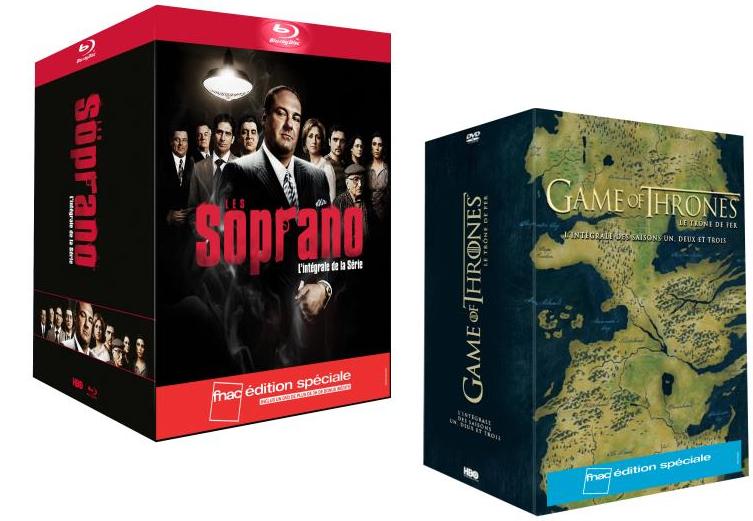1 Coffret Blu-ray/Dvd acheté = le 2ème Coffret offert