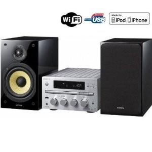 Micro chaîne Wifi Sony CMT-G2NiP - CD / MP3 / USB / iPod / Wi-Fi / DLN - Reconditionné