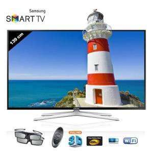 "TV 55"" Samsung UE55H6400 Smart TV 3D (+ 2x100€ en bons d'achats)"