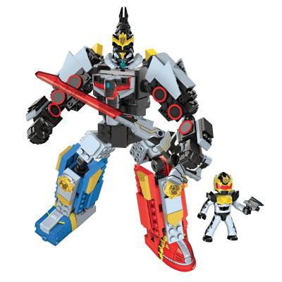 Figurine Power Rangers à construire : Megabloks Mégazord Gosei le Grand