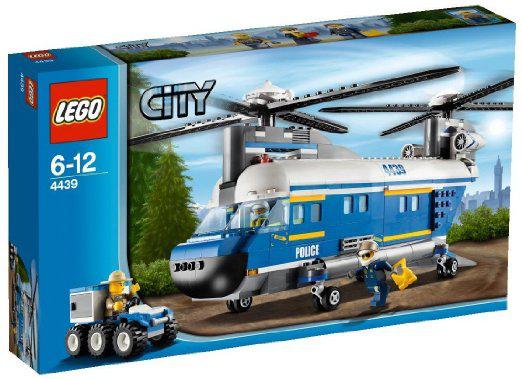 Set Lego 4439 - L'Hélicoptère de Transport (avec 15€ sur la carte Wahoo)