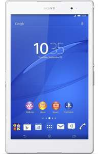 "Tablette Tactile Sony 8"" Xperia Z3 16 Go - Blanc"