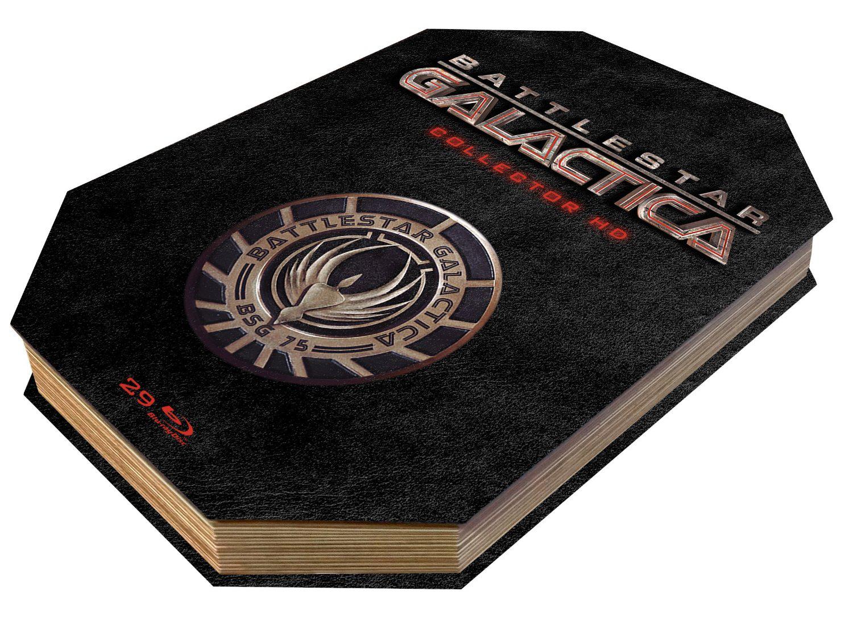 Coffret Battlestar Galactica Collector HD (Edition Limitée 29 Blu-Rays + Livre)