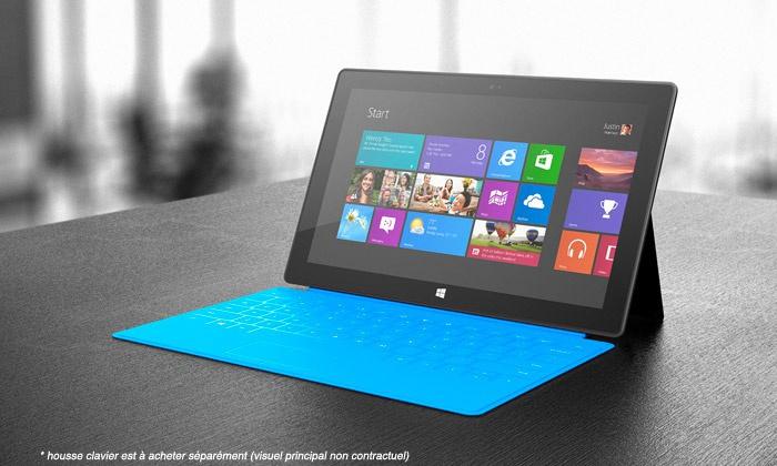 Tablette Microsoft Surface RT 32 ou 64Go avec Office 2013 RT - Reconditionnée