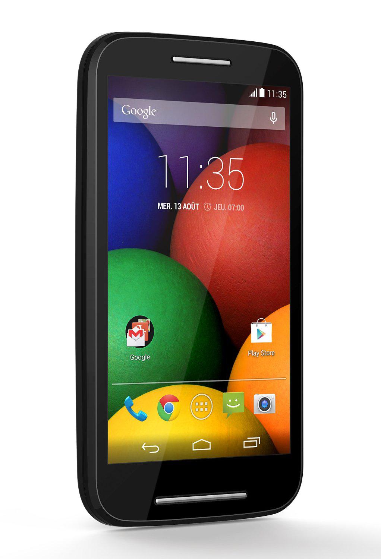Smartphone Motorola Moto E - Noir (avec ODR 20€)
