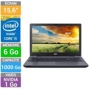 PC portable Acer Aspire E5-571G-5635 Gris (avec chèque cadeau de 2x50€)