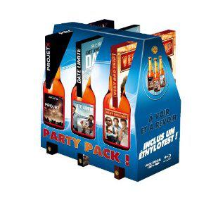 Coffret 3 Blu-ray : Projet X + Very Bad Trip + Date limite - Édition Limitée Party Pack