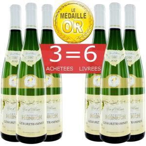 Vin blanc Gewurztraminer 2012 (6 bouteilles) + 20€ en bons d'achat