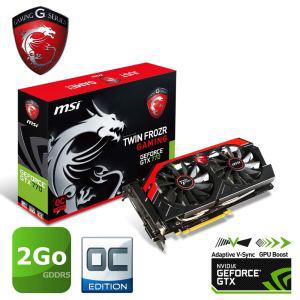 Carte graphique MSI GTX770 Twin Frozr OC Gaming 2Go + 50€ offert en bons cadeaux