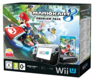 Console Nintendo Wii U 32 Go noire + Mario Kart 8