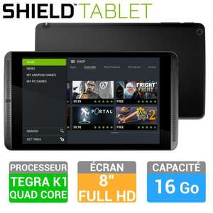 "Tablette 8"" nVidia Shield 16Go Android - WiFi - Full HD"