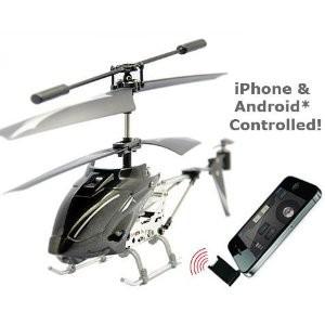 iHelicopter - un hélicoptère piloté par iOS ou Android