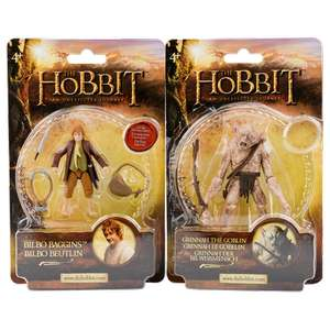 Différentes figurines The Hobbit