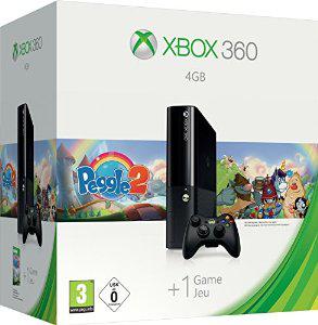 Console Xbox 360 4Go + Manette sans fil + Peggle 2