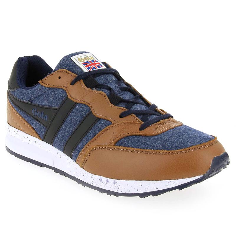 -30% sur sur une sélection de chaussures automne/hiver - Ex : Chaussure Gola Samurai Felt Marron Bleu