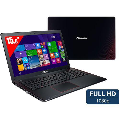 PC portable 15,6'' Asus R510JK-DM087H - Full HD, i7-4710HQ, GTX850M