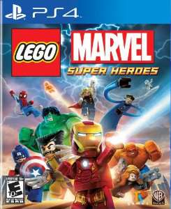 Jeu PS4 (dématérialisé) : Lego marvel super heroes