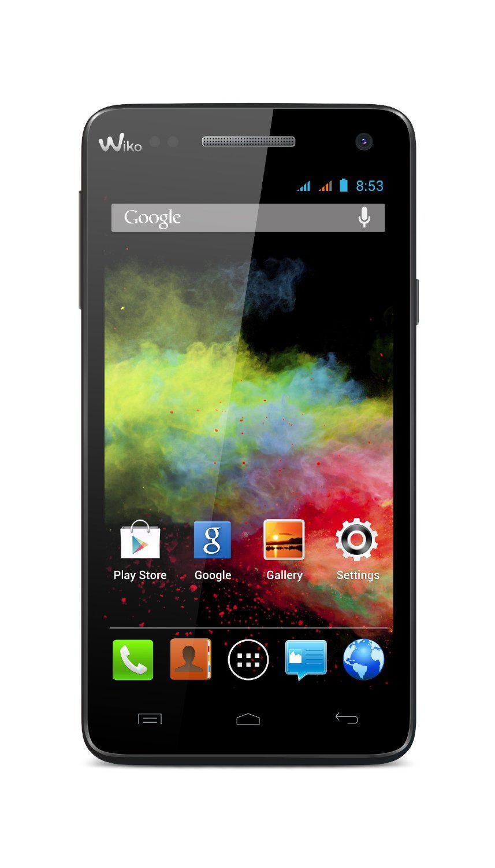 """Smartphone 5"""" NOUVEAU Wiko Rainbow 4G Noir - 8Go"""