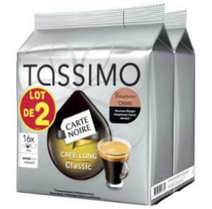 Pack de 3  lots de 16  Dosettes Tassimo (un lot gratuit)