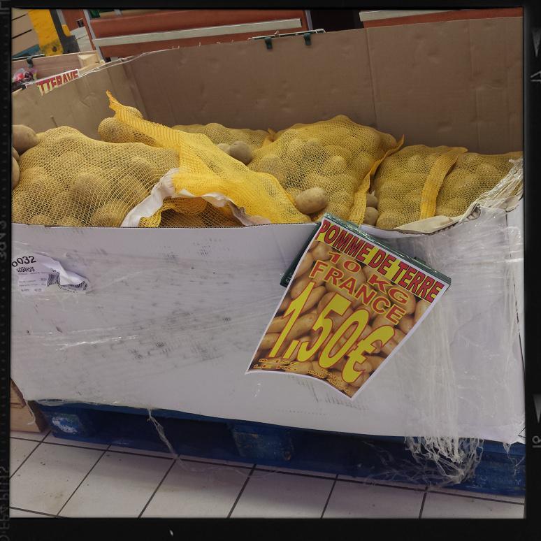 Lot de 10kg Pommes de terre