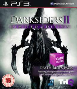 (PS3 / Xbox 360) Darkisders 2 édition limitée avec les dlc Death Rides + Argul's Tomb (exclu GAME) ou édition limitée avec le dlc Argul's Tomb