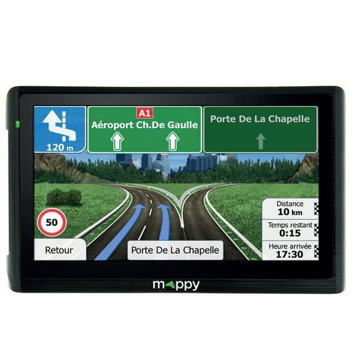 """GPS 6"""" Mappy Maxi E618 - Europe carte à vie"""