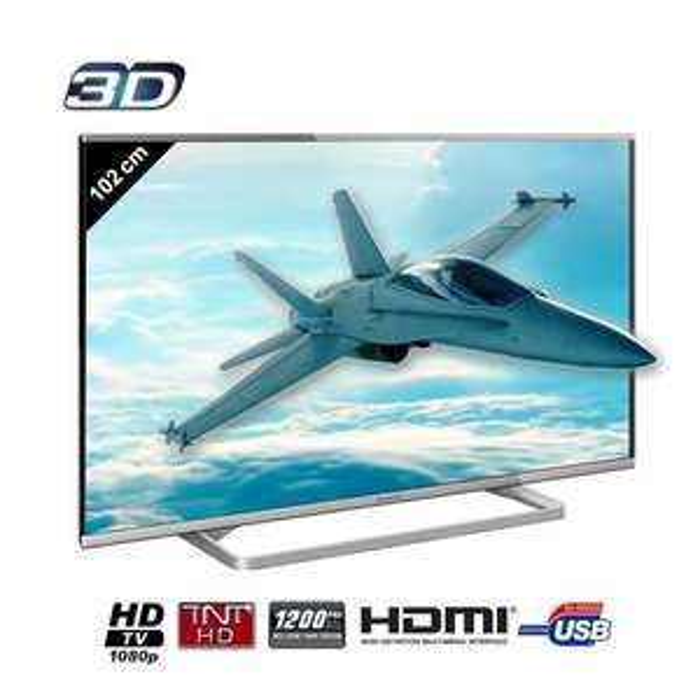 "Téléviseur 40"" Panasonic TX-40AS630 Smart TV Full HD 3D"