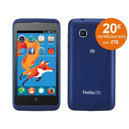 smartphone Zte - Open C bleu (avec ODR 20€)