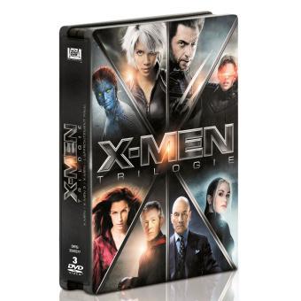 Coffret de la Trilogie DVD X-Men -  - Edition Steelbook Limitée (+ 1€ pour les adhérents)
