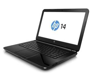 "PC portable 14"" HP 14-r008nf Noir (Intel Core i3, 6 Go de RAM, disque dur 750 Go, NVIDIA 1 Go, Windows 8.1)"