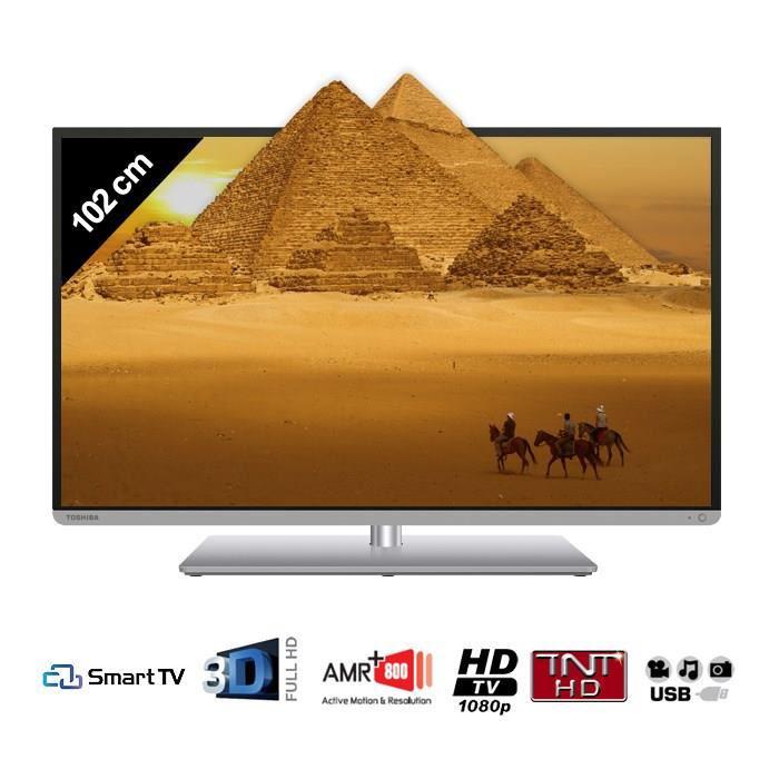 """TV 40"""" Toshiba 40L5445DG Smart TV 3D (Avec ODR de 50€)"""