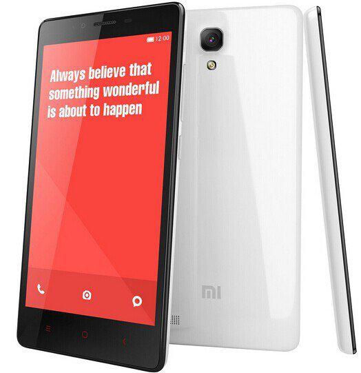 "Smartphone 5.5"" Xiaomi Redmi Note 4G (Quad Core, 2Go RAM,...)"