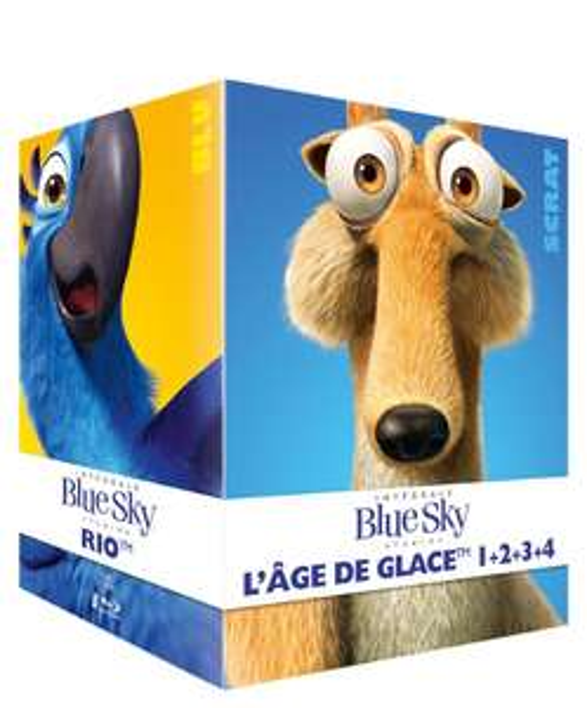 Coffret 8 Blu-Ray Blue Sky :  Epic, L'Age de Glace 1 à 4, Rio, Robots Horton