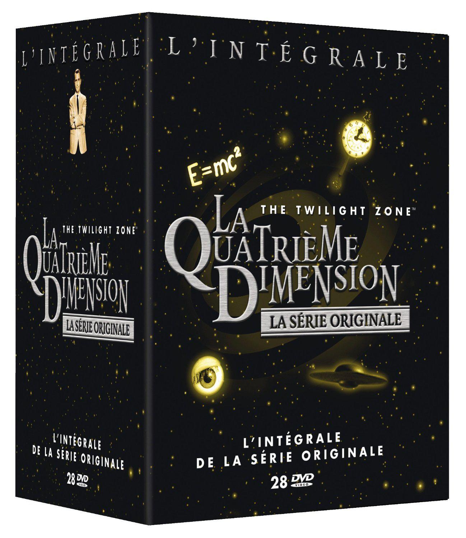 Coffret DVD : La Quatrième Dimension (La série originale) - L'intégrale