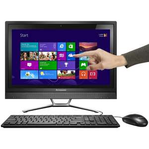 "PC Tout-en-un tactile 21.5"" Lenovo IdeaCentre C460 (i3 / 4 Go / 1 To)"