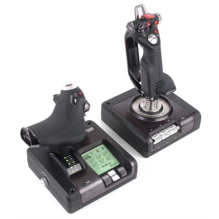 Joystick et manette Saitek Pro Flight Throttle X52 Control