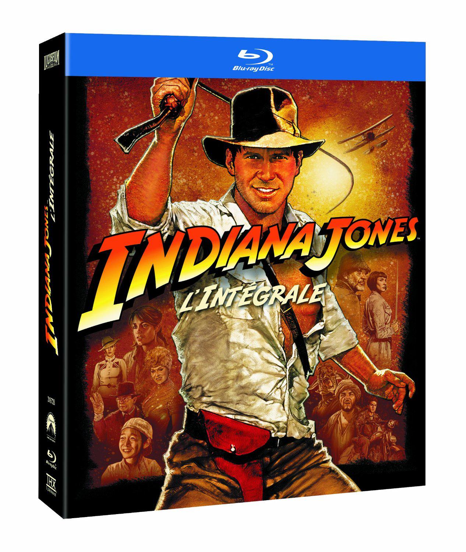 Coffret Blu-ray - L'intégrale Indiana Jones