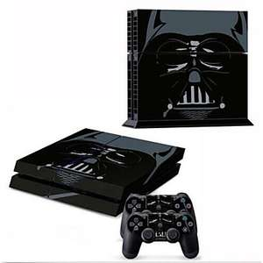 Autocollant PS4 thème Star Wars