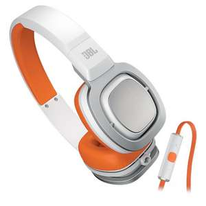 Casque audio JBL J55I  - blanc/orange