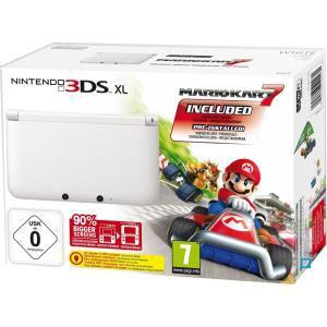 Console 3DS XL Blanche + Jeu Mario Kart 7