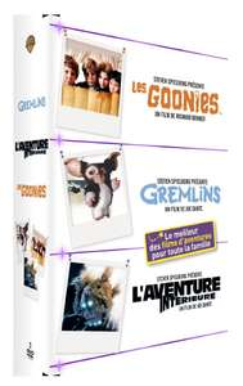 Coffret 3 DVD - Goonies / Gremlins 1 / L'aventure intérieure