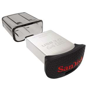 Clef USB 3.0 SanDisk Ultra Fit 64 Go