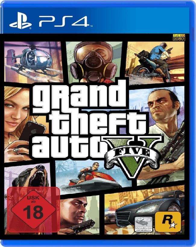 Jeu GTA V sur PS4/Xbox One  (5€ sur la carte fidélité)