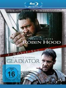 Blu-ray Robin des bois / Gladiator VO/VF (Director's Cut / Extended Edition, 2 Discs)