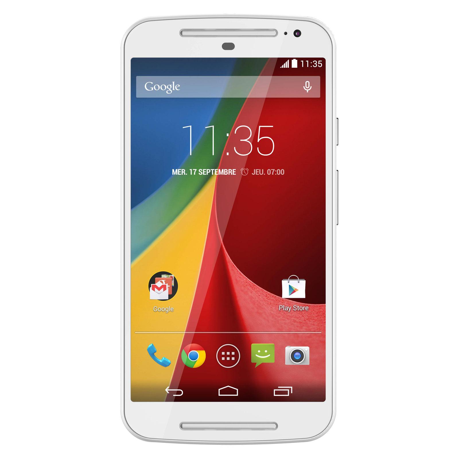 Smartphone Motorola Moto G 2ème Génération noir (avec ODR 30€)